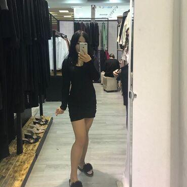 платье миди в полоску в Кыргызстан: Продаю платье 500с