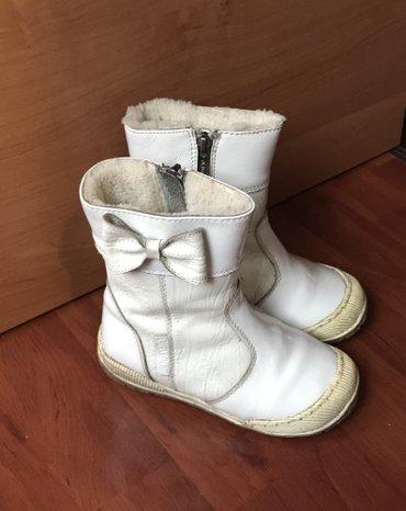 сапоги зимние кожаные 29размер (мех натуралка, неубиваемый носок и нес в Бишкек
