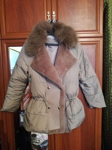 Куртка. Женская куртка.Мех натуралка. Для поздней осени