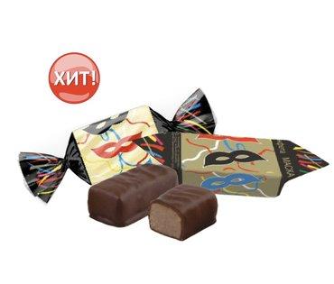 Шоколадные конфеты «Маска» - вкус детстваСветлое пралине «Маска» с