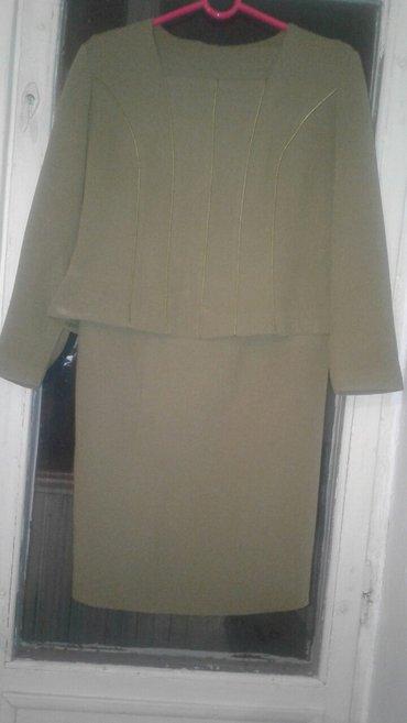 Костюм юбка жакшы абалда, юбкасы узун, в Бишкек