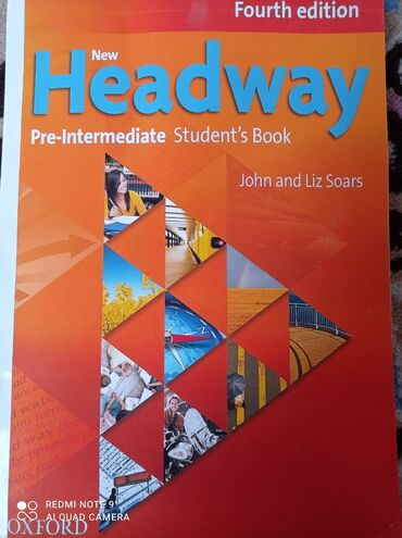 Продаю книгу headwey (pry-intermediate) fourth edition