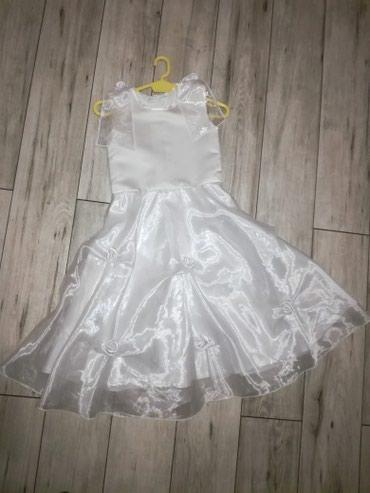 Haljinica-za-god - Srbija: Svecana bela haljinica za uzrast 6-7 god