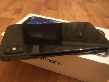 phone - Azərbaycan: İşlənmiş iPhone X 64 GB Qara