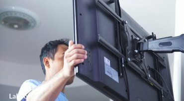 Повесит телевизор на стену , в Бишкек