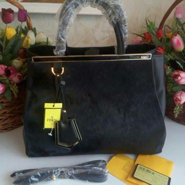 Шикарная сумка Fendi,натуральная кожа, в Бишкек