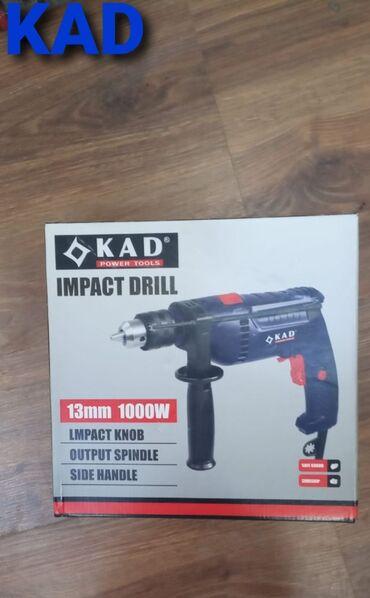 Drellər - Azərbaycan: Drel kad model.guc 1000 watt.abarot 1350 rpm.nov zerbeli drel.diametr