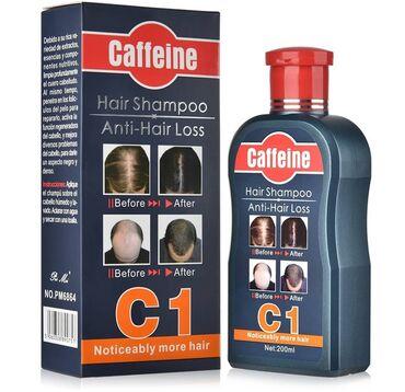 Caffeine c1 şampun saclara verdiyi effekti✔Tökülmeni