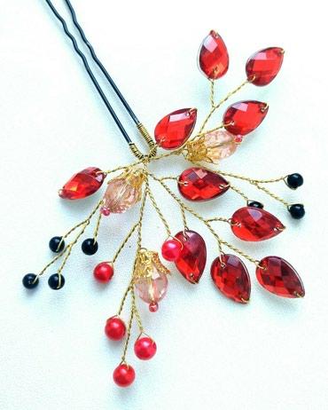 украшение шампанского для свадьбы в Кыргызстан: Украшения для волос ручной работы. Шпильки, гребни, веточки