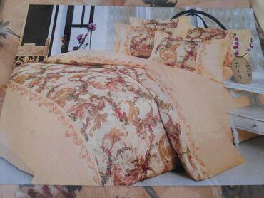 Продаю комплектДвухспальное постельное бельеЛен + хлопок Брала за 4800