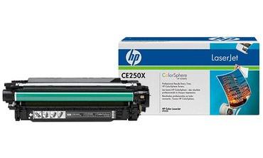 Картридж HP CE250X черный, увеличенной в Бишкек