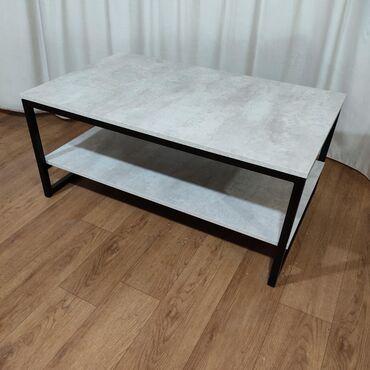 Журнальный стол из металлического каркаса 100х60х45ЛофтЭмерек