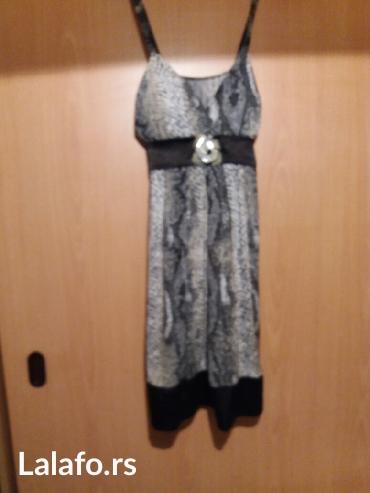 Samo nova haljina kupljena u italiji... Materijal prelep lagan za leto - Vrnjacka Banja