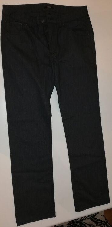 Pantalone legendu - Srbija: Muske Legend pantalone tamno sive-crne velicina 33/32. Samo skinita