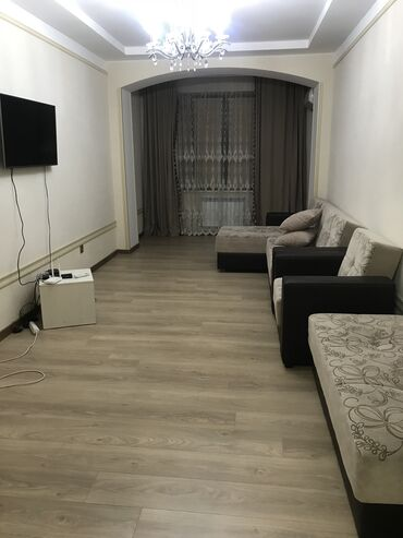 продажа трехкомнатных квартир в Кыргызстан: Сдается квартира: 2 комнаты, 90 кв. м, Бишкек