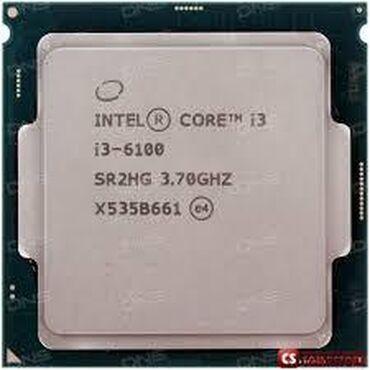Prosessorlar - Azərbaycan: Intel® Core™ i3-6100 Processor3M Cache, 3.70 GHz# of Cores:2# of