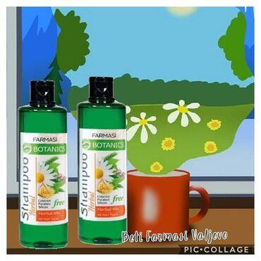 Slonovace - Srbija: Herbal mix sampon Za sve tipove kose.Aktivni sastojci:zeleni čaj