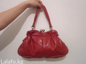 Яркая красная сумочка - нарядный в Бишкек