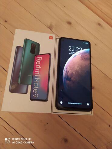 Мобильные телефоны и аксессуары - Азербайджан: Xiaomi Redmi Note 9 | 64 ГБ | Серый | Сенсорный, Отпечаток пальца, Две SIM карты