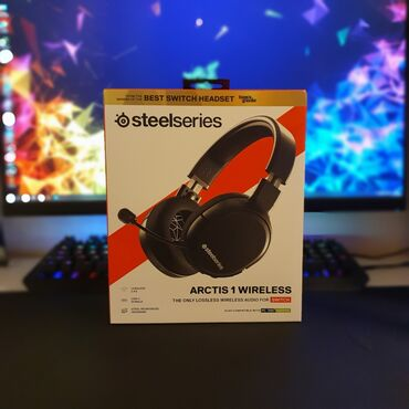 steelseries - Azərbaycan: SteelSeries Arctis 1 Wireless gaming headsetNew sealed box.Simsiz oyun