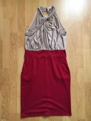 Obim-grudcm-duzina-cm - Srbija: Jednom nosena haljina, obim 76, duzina 106