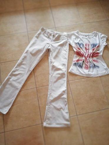 Pantalone uz telo - Srbija: Pantalone italija Vel. M. Uz telo. Saljem post espresom
