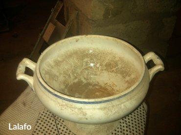 Gəncə şəhərində Farfor sup qabı-material farfor. çiniqab. Qapaqsız.- şəkil 2
