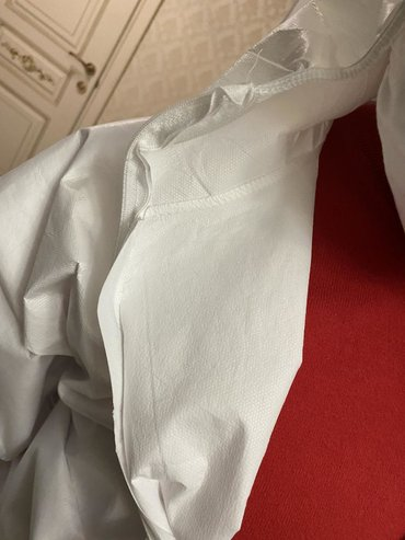 Сверхпрочные защитные костюмы, сертификат, бесплатная доставка.  Каран