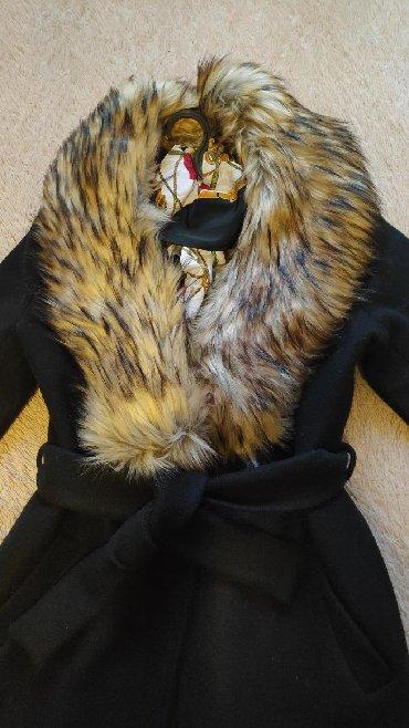женские-пальто в Кыргызстан: Продаю пальто,зима,шерсть/кашемир,экомех,не линяет,размер 46-48,цена