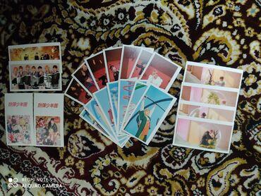 Свечи - Бишкек: Карточки для фанатов Bts Большие 20 сомов Маленькие 10