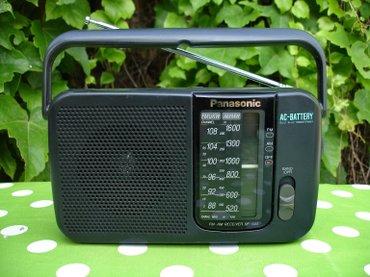 Tranzistor - Srbija: Odličan radio tranzistor PANASONIC RF-544. Lepo očuvan i potpuno