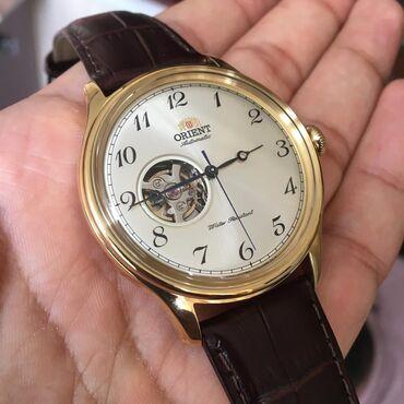 Black Male Wristwatches Orient