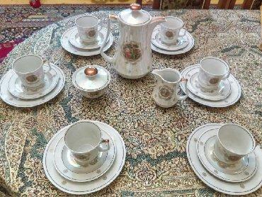 - Azərbaycan: GDR Madonna çay dəsti, qədimi, yeni, 21 predmet