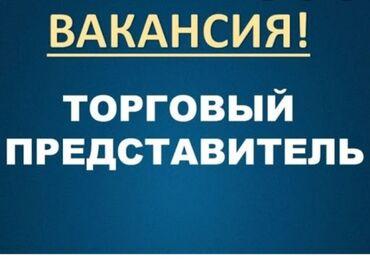 Тур агент - Кыргызстан: Торговый агент. Без транспорта. С опытом. 6/1