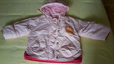 Beba kids jakna nepromočiva, postavljena odlična. Br 1 kao nova - Belgrade