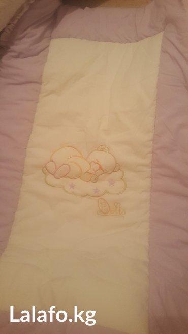 сумка переноска для детей в Кыргызстан: Бортики на дет кровать плюс простынь. турция. б/у