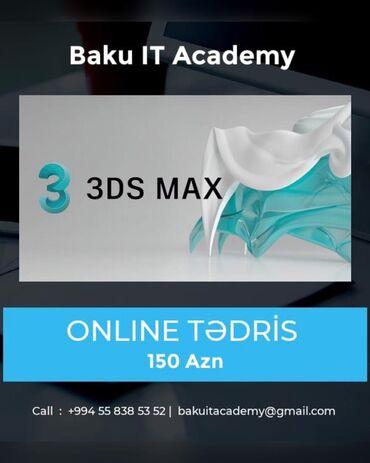 Online 3D Qrafik Dizayner Kursları! 3D MAX – İnteryer və eksteryer diz