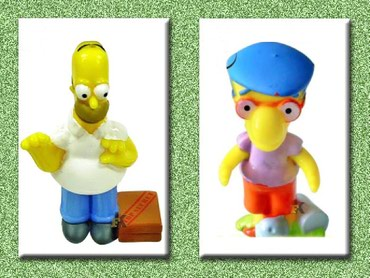 Kinder The Simpsons (2007) - Cacak