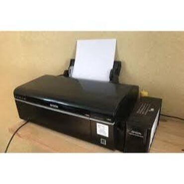 Принтеры в Бишкек: 6 цветный фото принтер Epson L805, Wi-Fi, заводское снпч.Б.у полностью