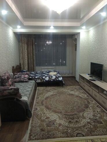 Посуточная аренда квартир - Собственник - Бишкек: Почасовая гостиница уютная однокомнатная квартира в элитном доме Ночь