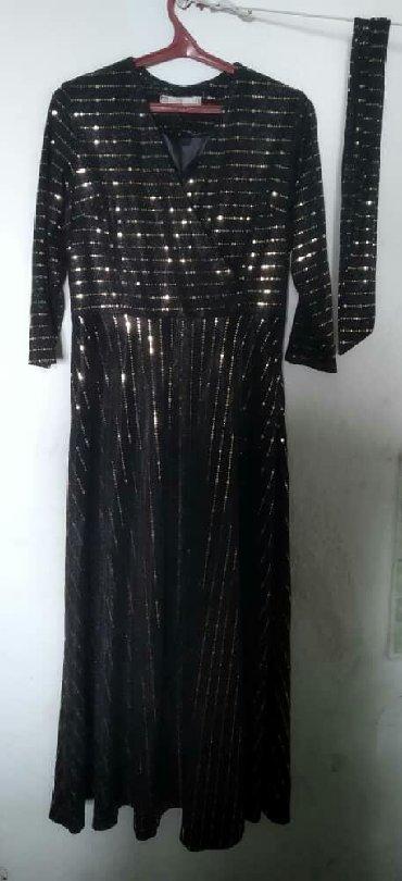Женская одежда в Кочкор: Платье с поясом