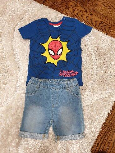 Ostala dečija odeća | Crvenka: Komplet C&A za dečake vel 2-3. Šorts je potpuno nov a majica