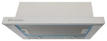 вытяжка циркуляция в Кыргызстан: Встраиваемая вытяжка Electronicsdeluxe IREN GLASS ACB SP60 SW  подробн