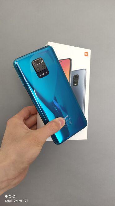 Xiaomi Redmi Note 9S | 64 ГБ | Синий | Б/у | Гарантия, Сенсорный, Отпечаток пальца