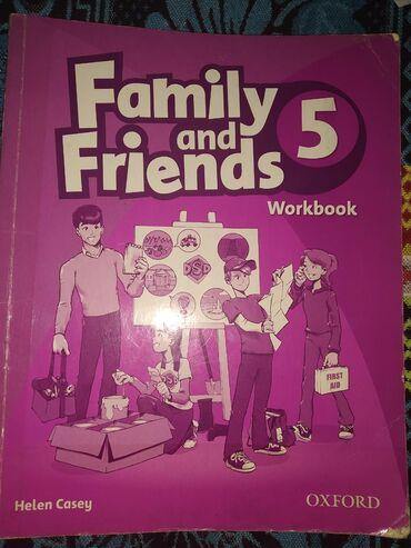 mac book в Кыргызстан: Family and Friends 5( Class Book(200сом) Work book(200 сом)