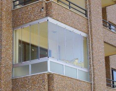 Bakı şəhərində Evinizin istenilen dizanerine uygun olaraq cam balkon ve dus kabine- şəkil 3
