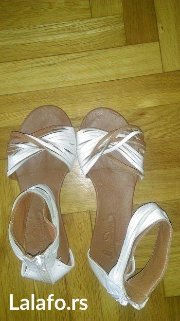Braon kozne sandale broj pitajte - Srbija: Prodajem kozne sandale broj 36