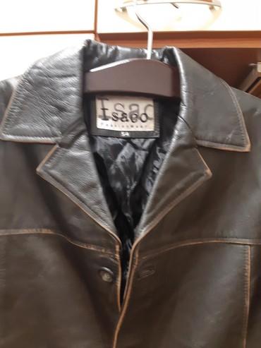 Heineken-sesir - Srbija: Kožna muška jakna,ekstra kvaliteta