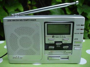 Potpuno nov i ne korišćen mali džepni radio tranzistor ELTA 3555. - Novi Sad