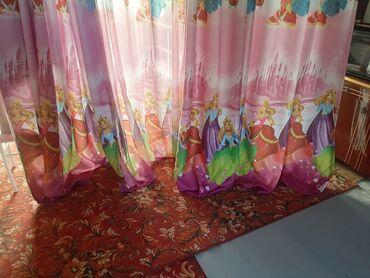 Детский мир - Сокулук: Занавеска для детской размер длина 250 ширина 240 .размер тюля длина